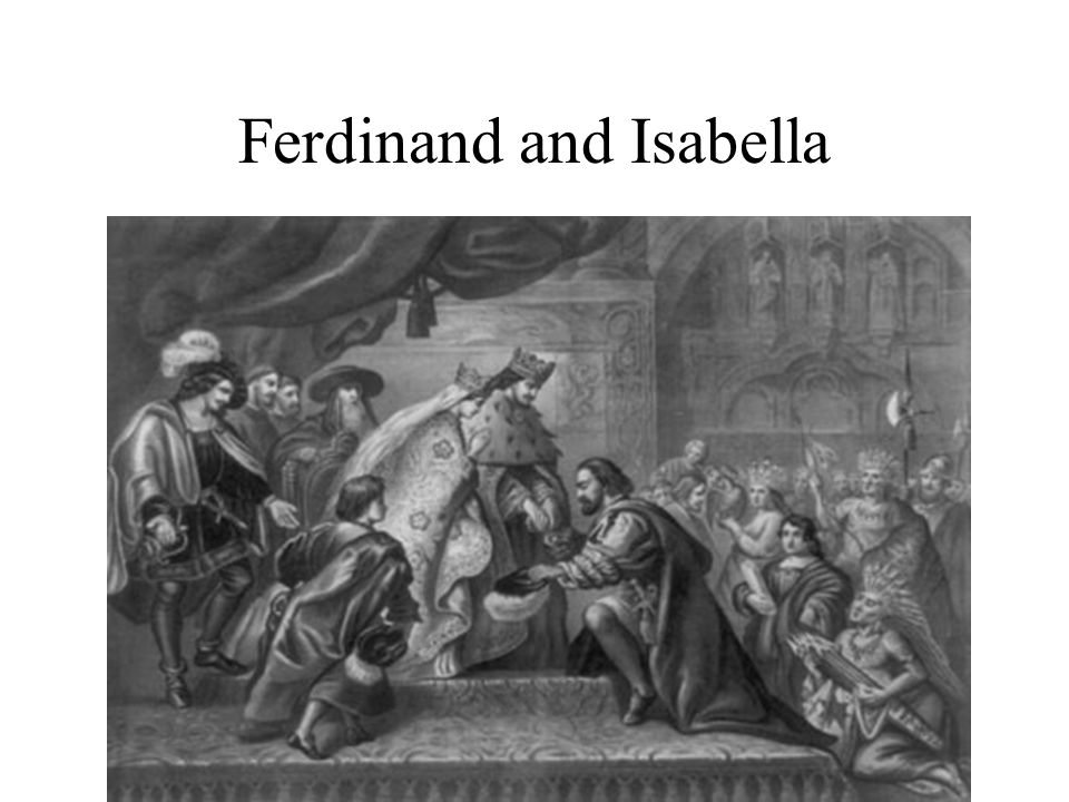 Ferdinand and Isabella