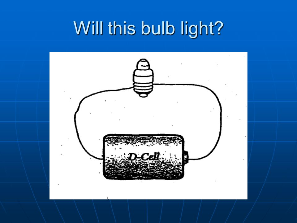 Will this bulb light?