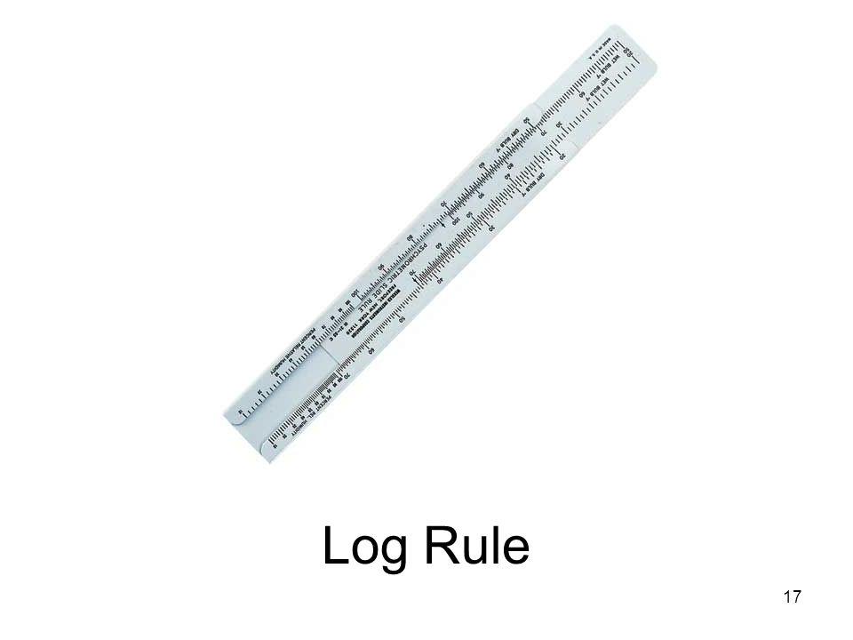 Log Rule 17