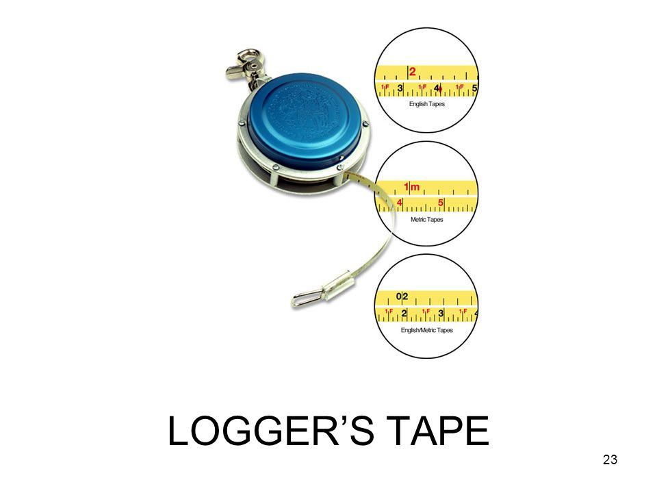 LOGGER'S TAPE 23