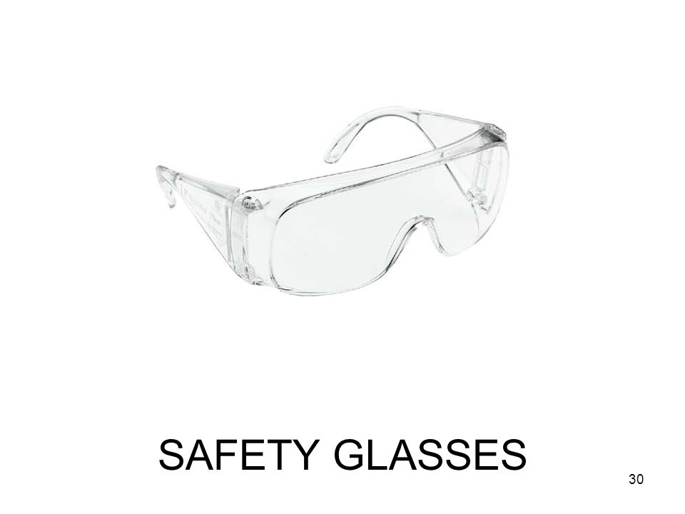 SAFETY GLASSES 30