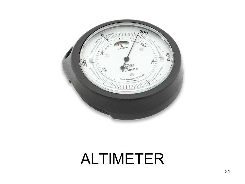 ALTIMETER 31