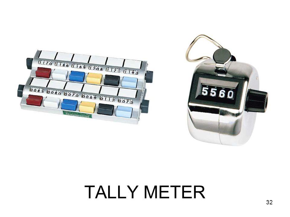 TALLY METER 32