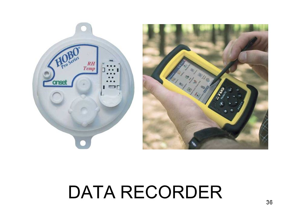 DATA RECORDER 36