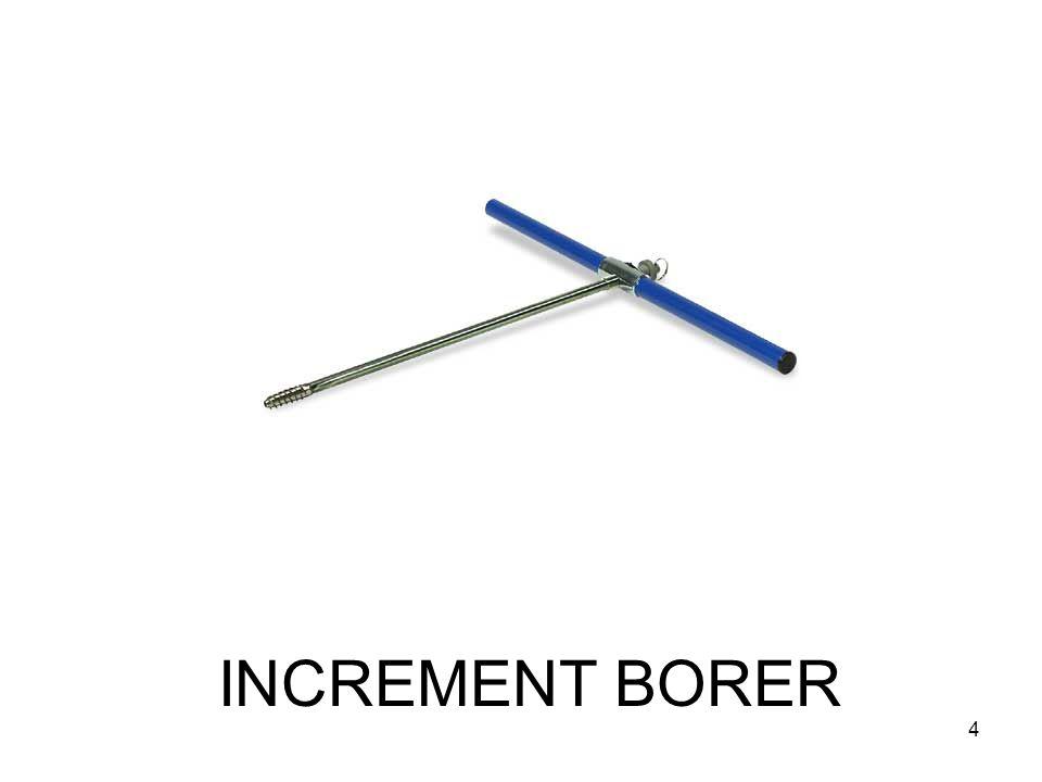 INCREMENT BORER 4
