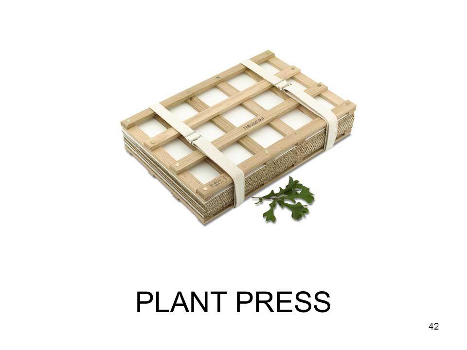 PLANT PRESS 42