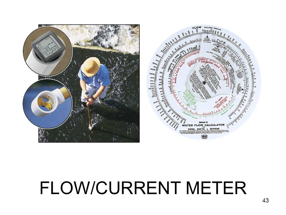 FLOW/CURRENT METER 43