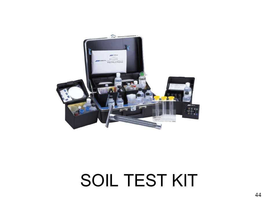 SOIL TEST KIT 44