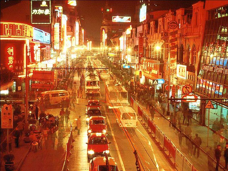 City by Night, Shenzhen, China