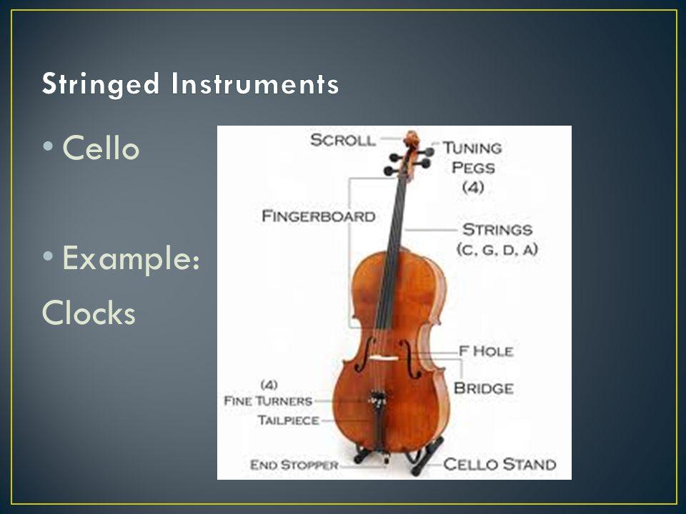 Cello Example: Clocks