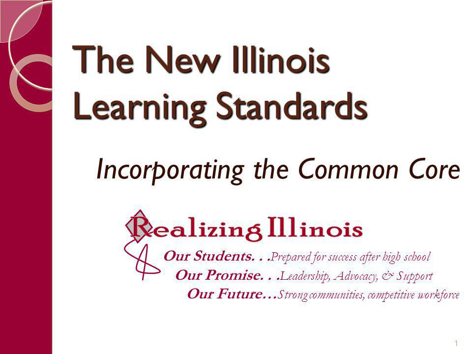 Overview of the K-12 ELA Standards The K-12 ELA Speaking & Listening standards are benchmarked to College and Career Readiness Anchor Standards.