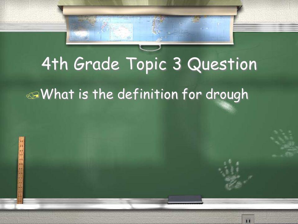 5th Grade Topic 2 Answer / Cash crop Return