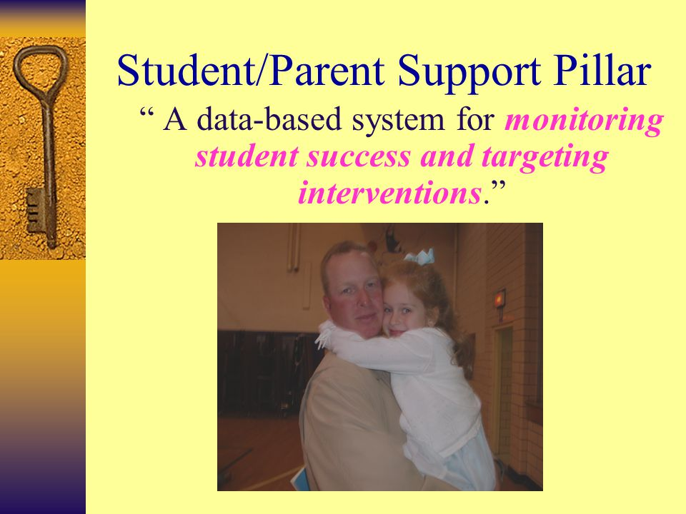 "School Effectiveness Pillar ""…a consistent district-wide school improvement process that includes: a district monitoring system that requires continuo"
