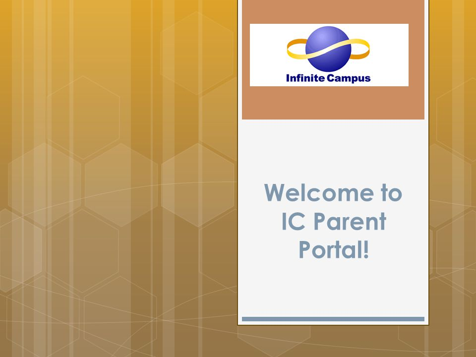 Welcome to IC Parent Portal!
