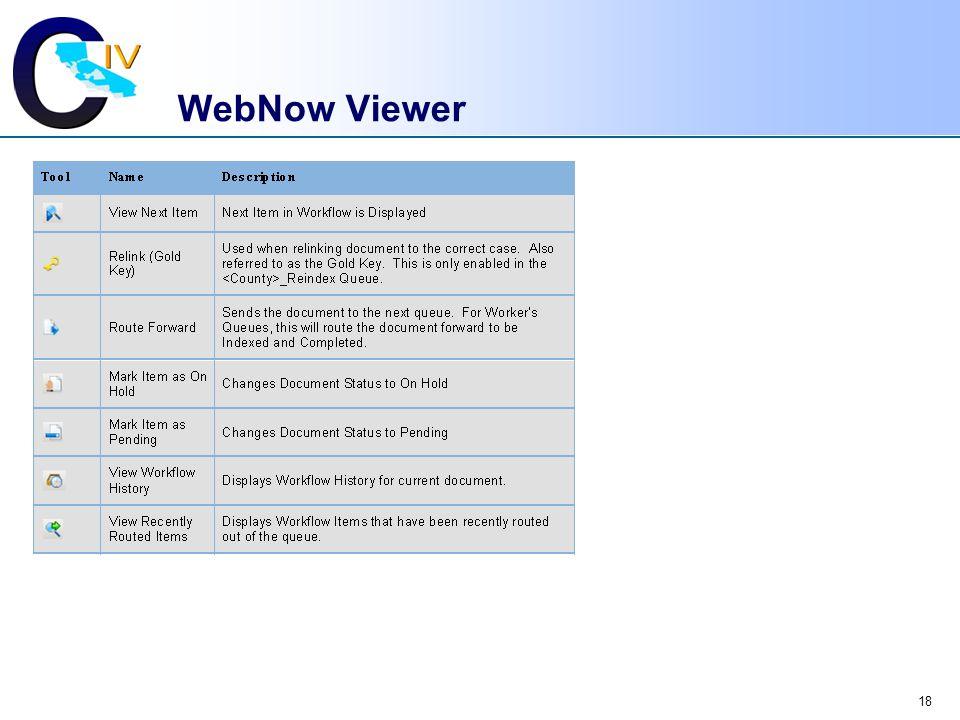 18 WebNow Viewer