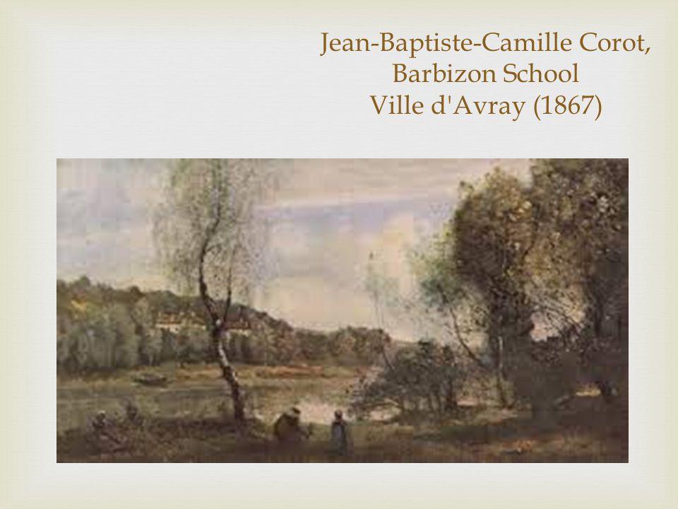 Jean-Baptiste-Camille Corot, Barbizon School Ville d Avray (1867)