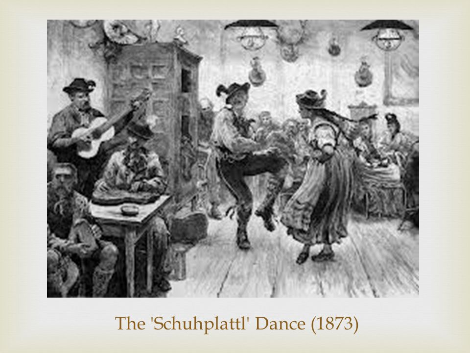 The Schuhplattl Dance (1873)