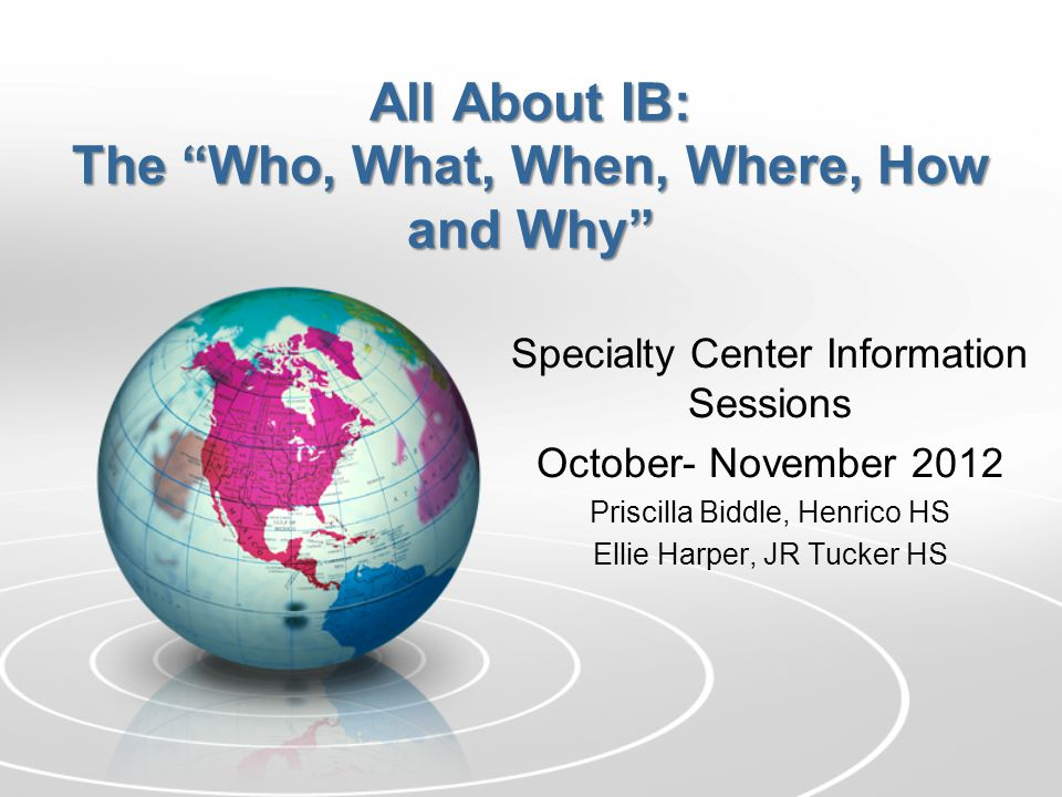 What is IB.