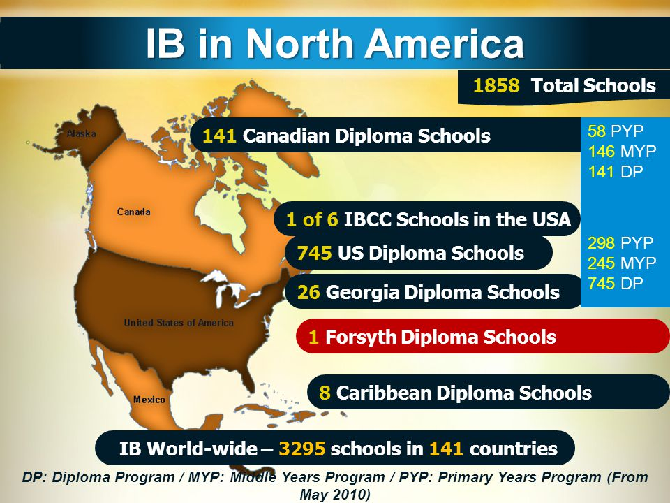  The average acceptance rate of IB students into university/college is 22% higher than the average acceptance rate of the total population.