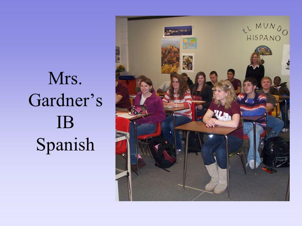 Mrs. Gardner's IB Spanish