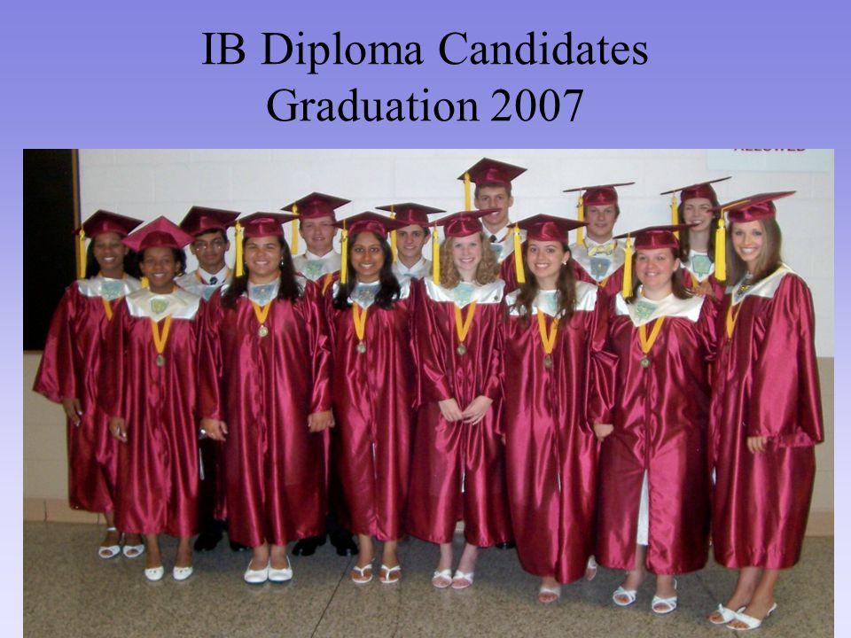 IB Diploma Candidates Graduation 2007
