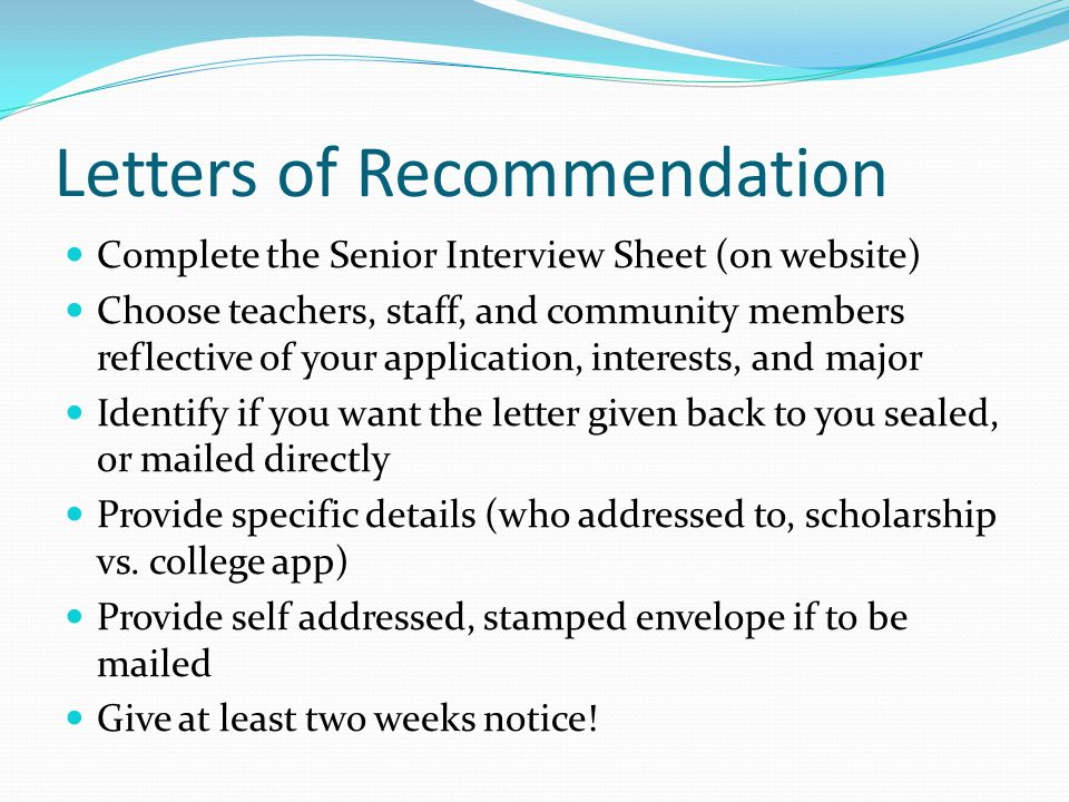 Apply for Scholarships Check the Scholarship / Financial Aid section of the Islands HS website Use the scholarship newsletter links Check the websites of the colleges and universities you are applying to – watch for deadlines and additional applications, materials.