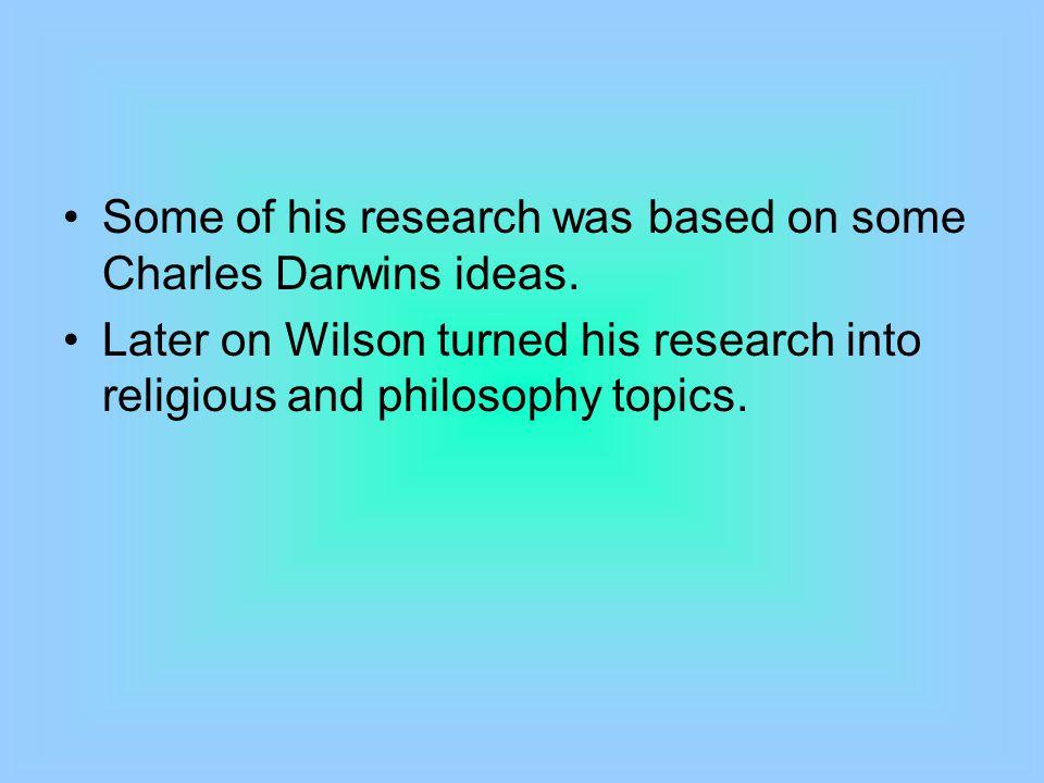 Works Cited E.O. Wilson. Wikipedia. Wikimedia Foundation, 09 June 2012.