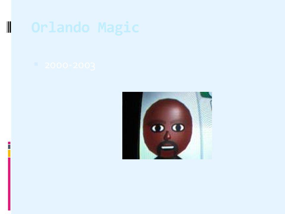 Orlando Magic  2000-2003