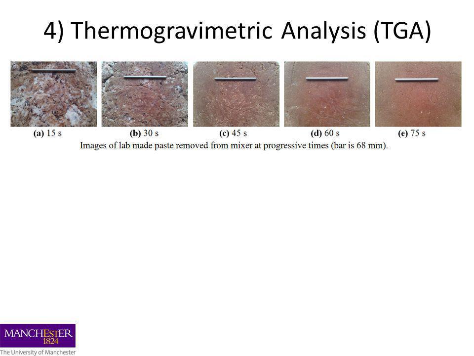 4) Thermogravimetric Analysis (TGA)