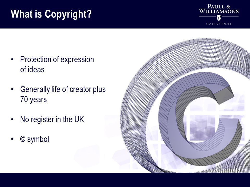Software Original literary works Original dramatic works Original musical works Original artistic works Published editions - typographical copyright Sound recordings Films and videos Broadcasts and cable programmes What type of works are protected by Copyright?
