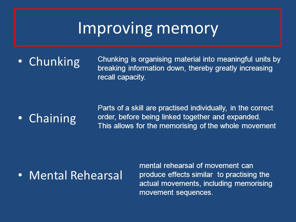 Decision Making Input Identify Stimulus Select Response Programme Response Output Long Term Memory Short Term Memory