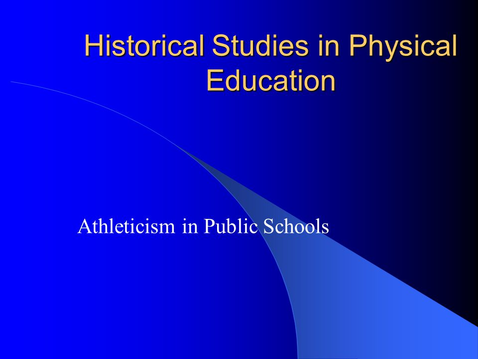 Historical Studies in Physical Education Rational Recreation in Urban Industrial Society