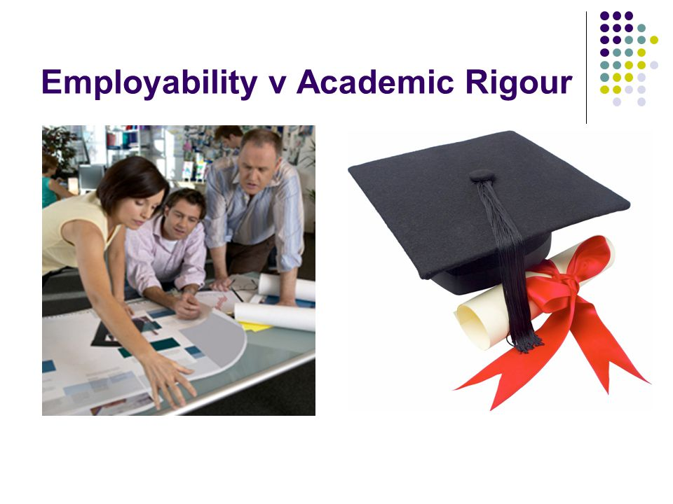 CHALLENGE Embed employability and professional skills whilst at the same time combining this with academic rigour ANSWER  Teach practical skills  Framework approach linking industry best practice to academic theory