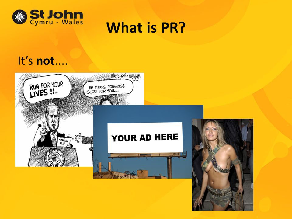 What is PR.(Cont.) PR is....