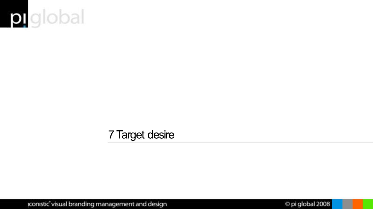 7 Target desire