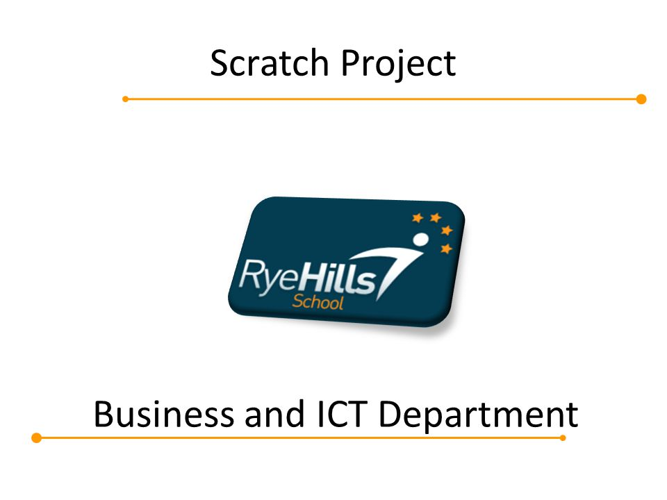 Business and ICT Department Scratch Project