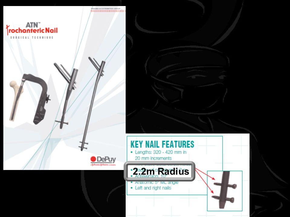 2.2m Radius