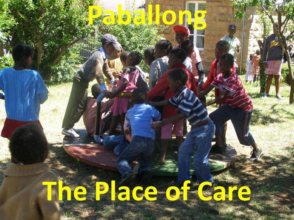 Services at Paballong Care Prevention Mitigation