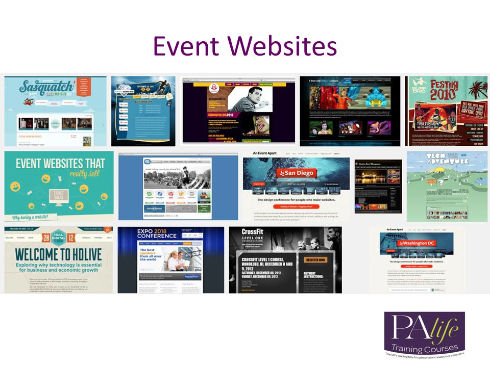 Event Websites