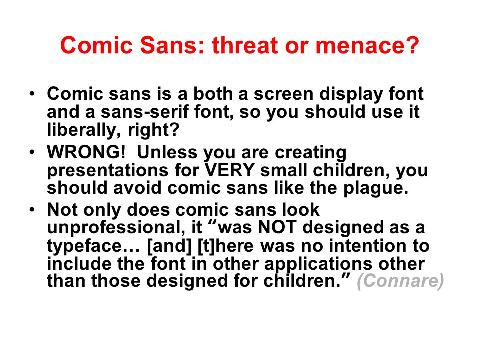 "Serif v. sans-serif On paper, people prefer reading serif fonts— fonts with a ""tail"" (like Times New Roman. ) On screens, however, prefer sans-serif f"
