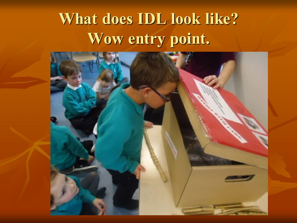 What does IDL look like Wow entry point.