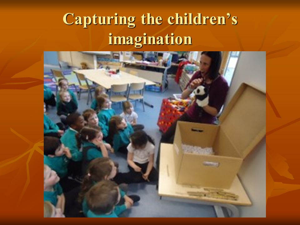 Capturing the children's imagination