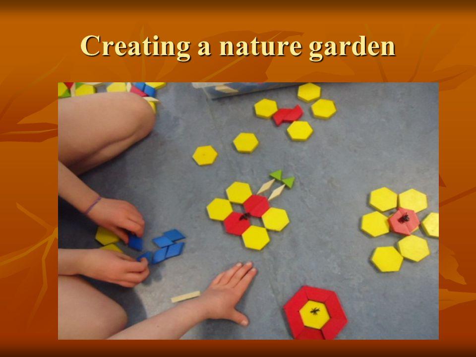 Creating a nature garden