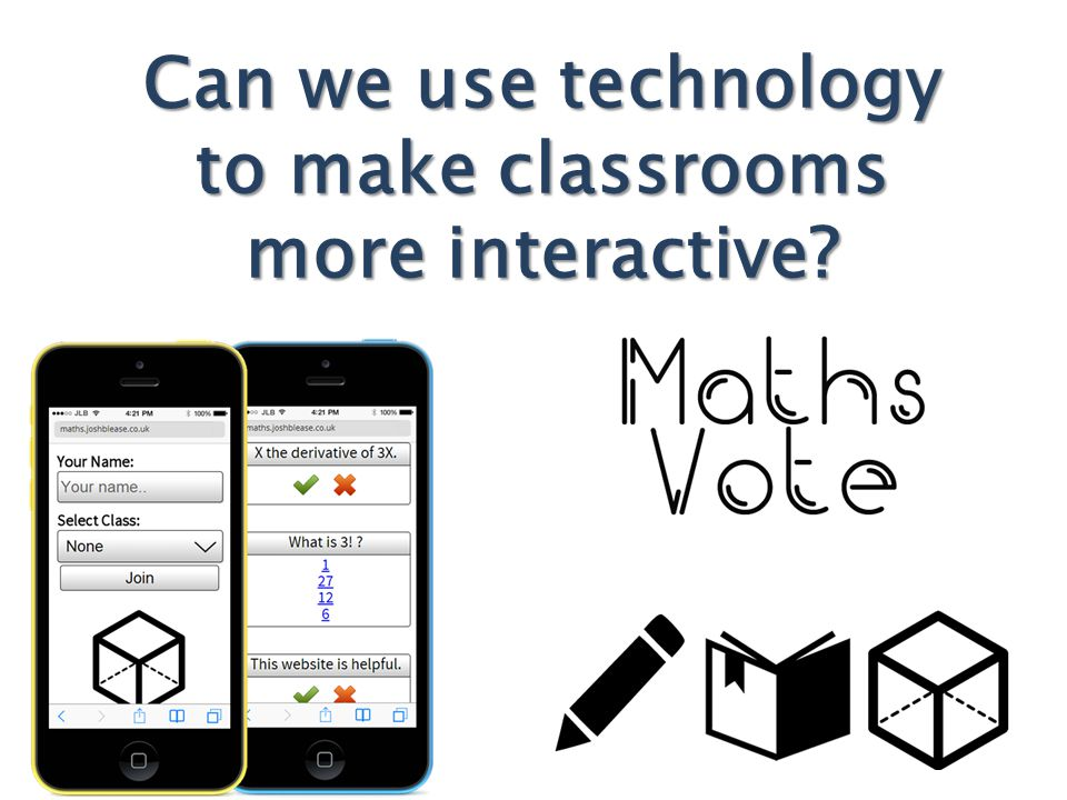 Can we use technology to make classrooms more interactive