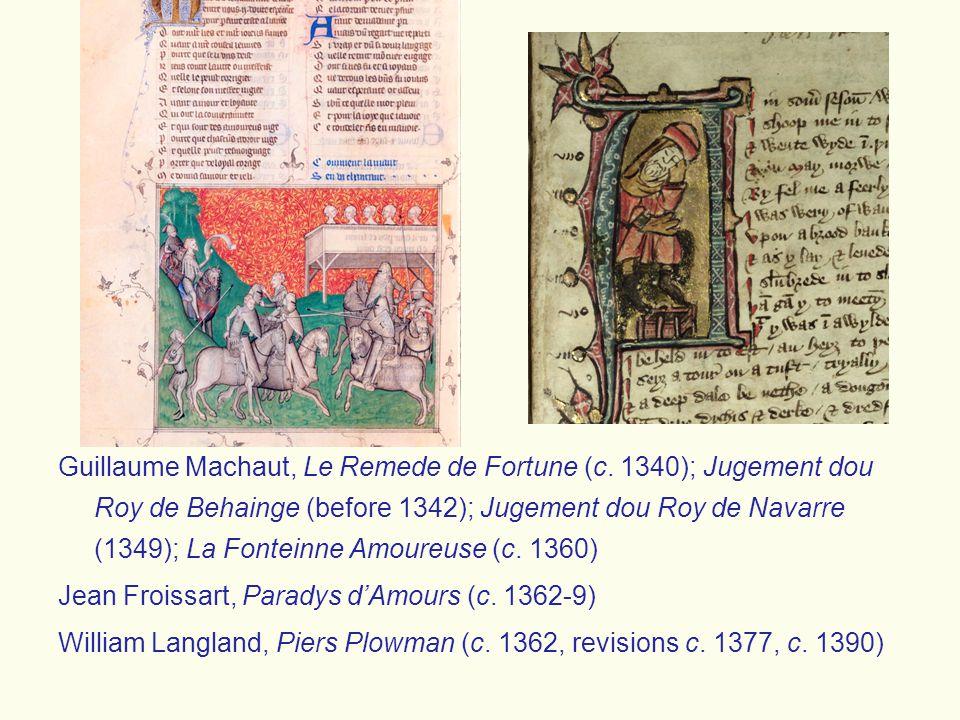 Guillaume Machaut, Le Remede de Fortune (c.