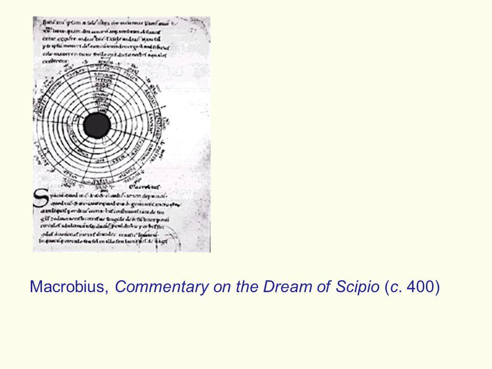 Macrobius, Commentary on the Dream of Scipio (c. 400)