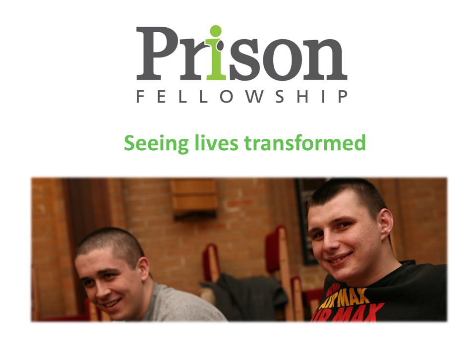 Our vision is that every prisoner has access to support and prayer.