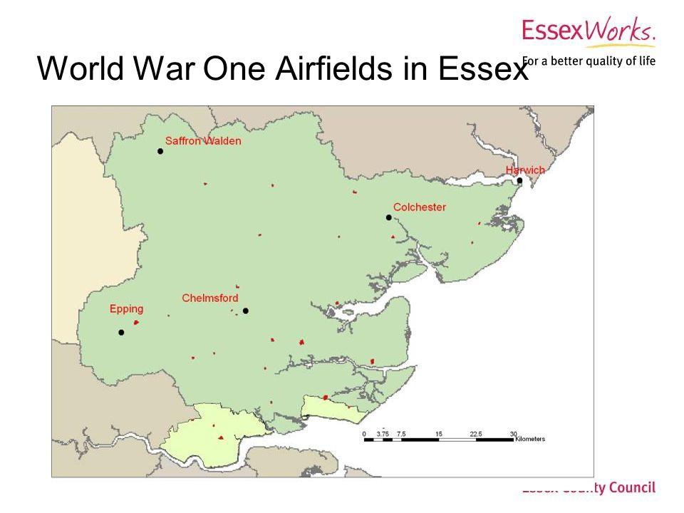 World War Two Airfields in Essex