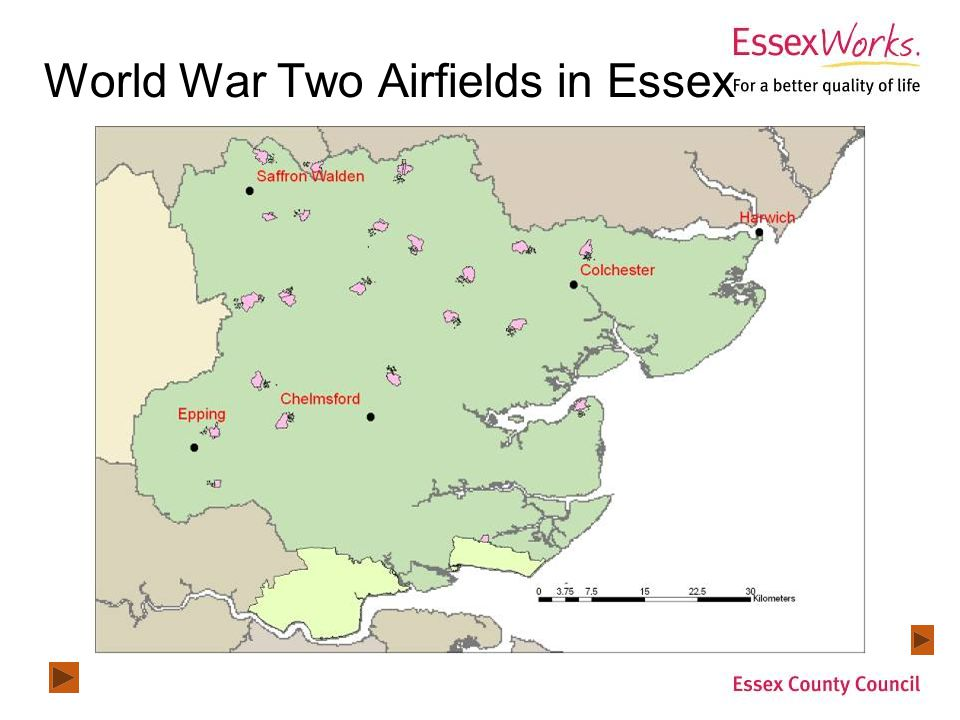 World War Two Airfields in Essex