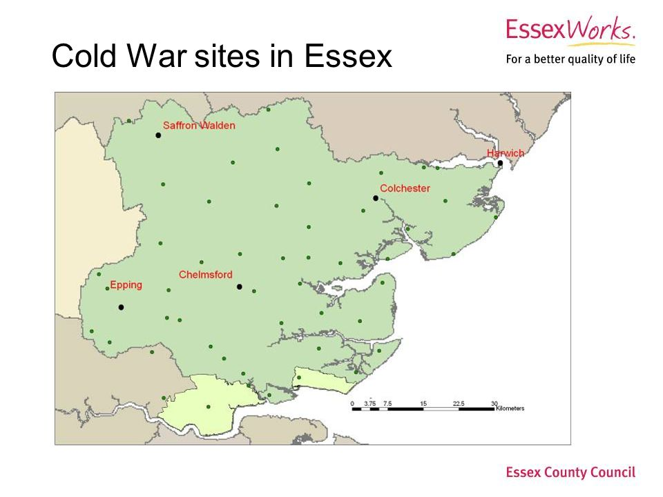Cold War sites in Essex